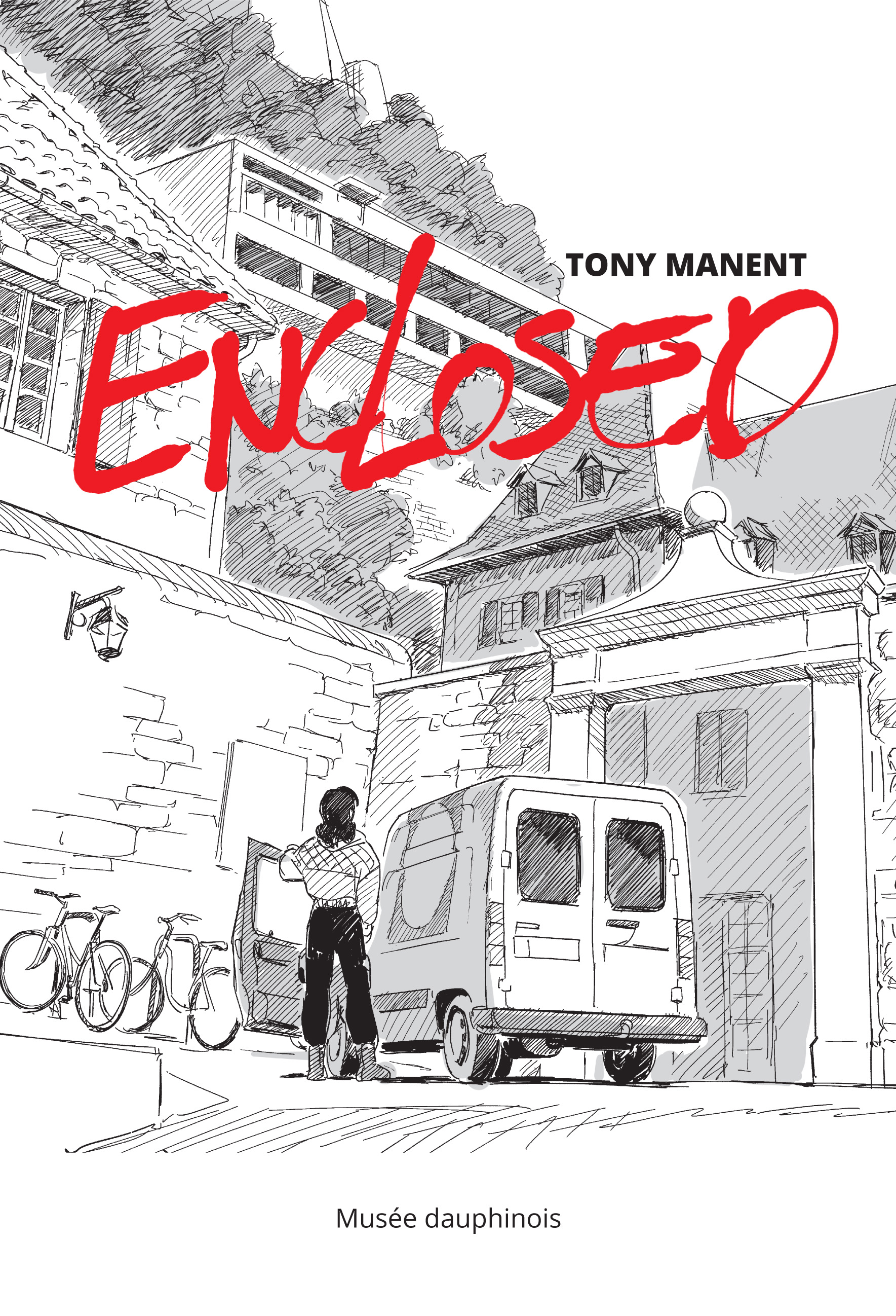 Couverture d'Eclosed de Tony Manent