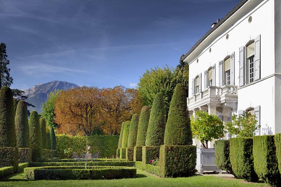 Le jardin et la maison du peintre Ernest Hébert