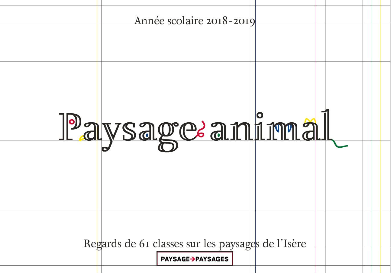 Paysage animal. Arts plastique 38