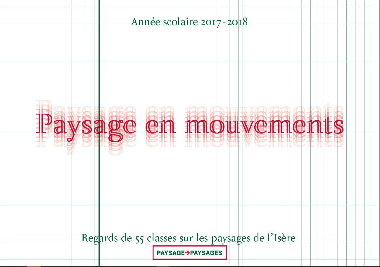 Paysages en mouvements. Arts plasqtique 38