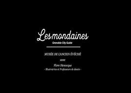 Les Mondaines générique de la vidéo (titre sur fond noir) © Les Mondaines