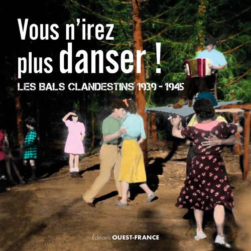 """Couv """"Vous n'irez plus danser"""""""