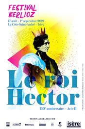Affiche du festival Berlioz 2019