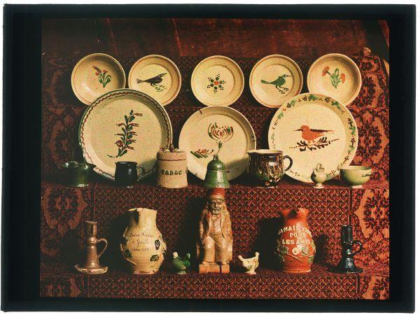 Présentation des collections du Musée dauphinois - Plaque de verre de René Rivière (entre 1901 et 1920à