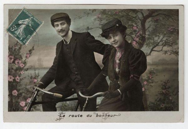 LaRouteDuBonheur_carte postale_Coll. Musée dauphinois