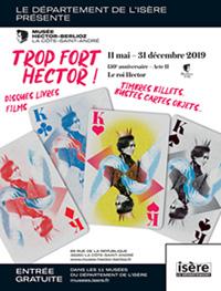 Affiche de l'exposition du musée Hector-Berlioz