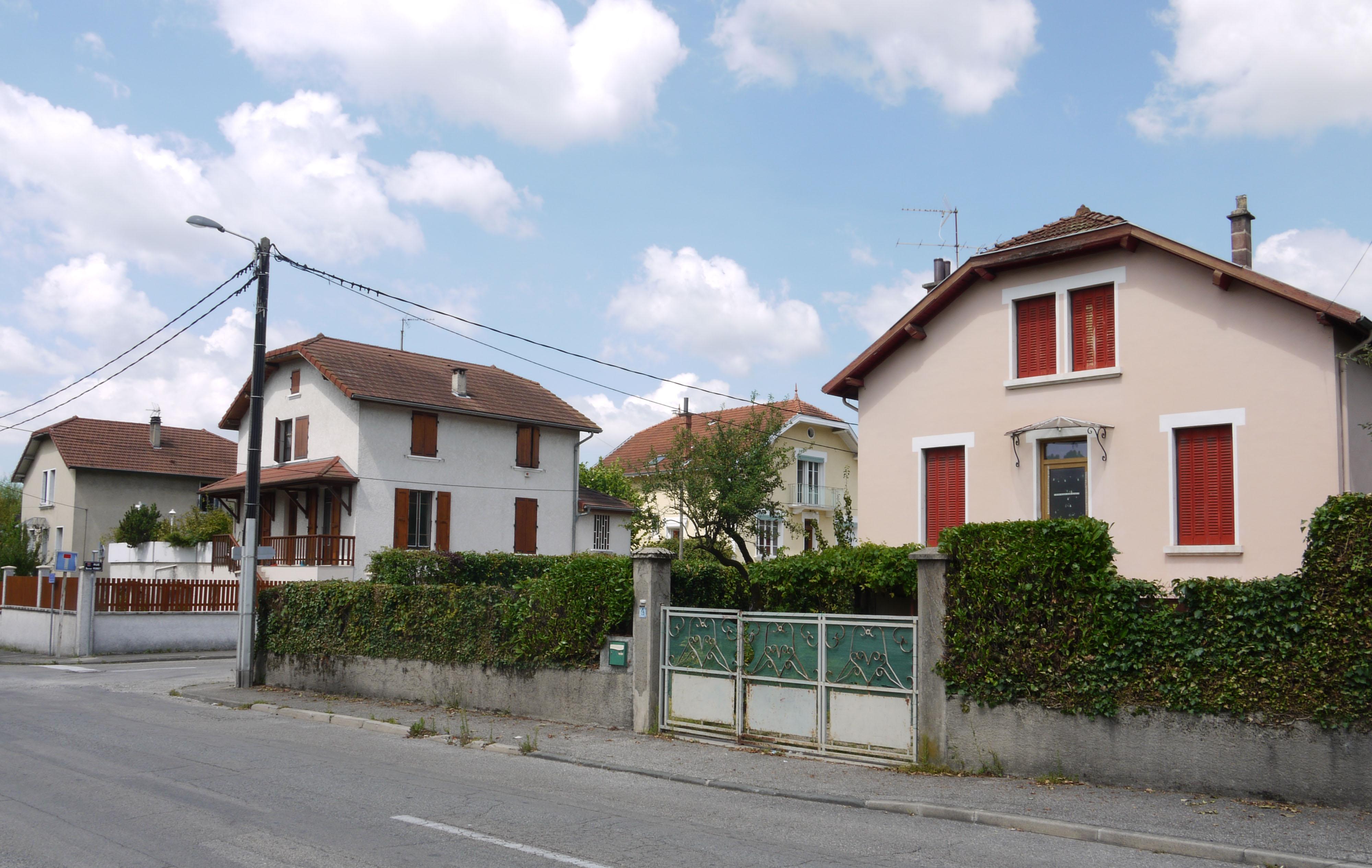 La cité Jouvin à Voiron.