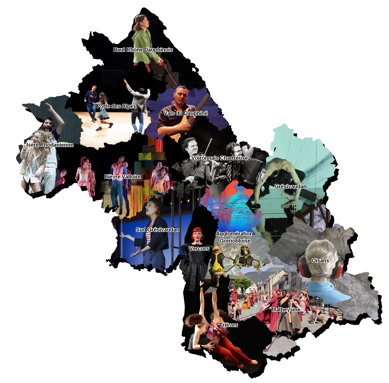 Résidences artistiques en Isère