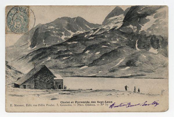 Carte postale des Sept-Laux - Collection Musée dauphinois